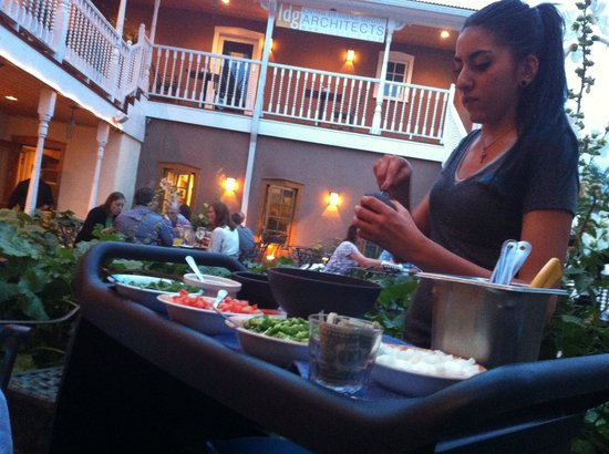 Antonio's A Taste of Mexico: Guacamole made to order at our table!
