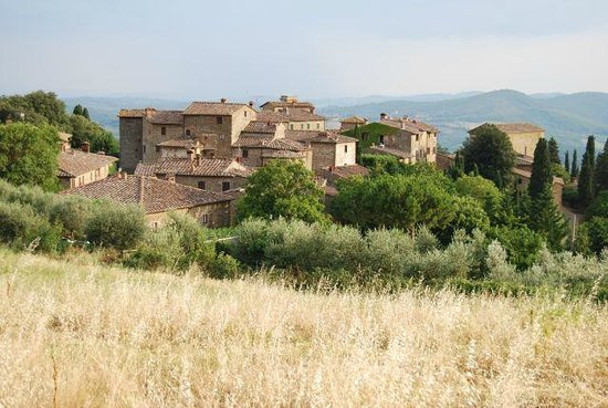 Castello di Volpaia: The hill town of Volpaia