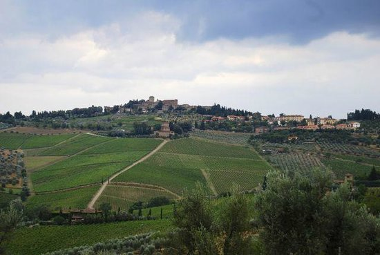 Castello di Volpaia: The local landscape in the vicinity of Volpaia