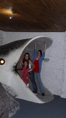 Acuario: Saida do aquário