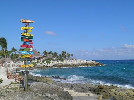 พลายาเดลคาร์เมน, เม็กซิโก: Vista mar