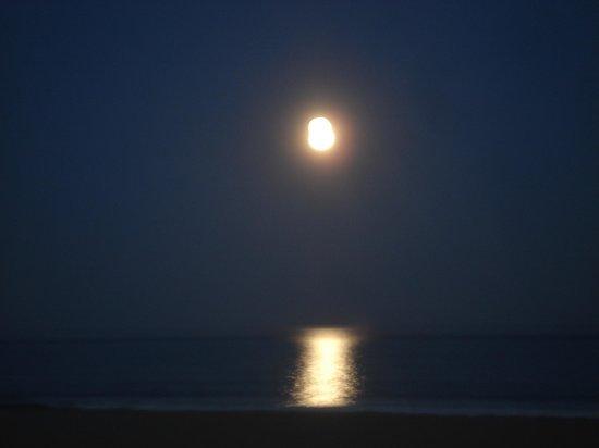Ashworth by the Sea: Full moon Rising at Hampton Beach