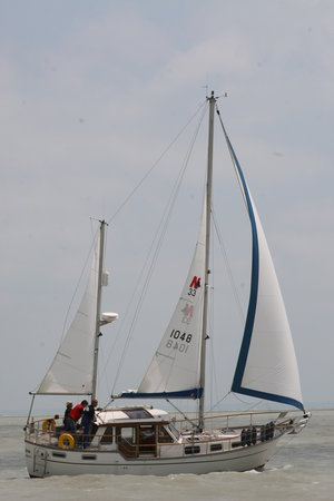 Nauticat Sailing at Lake Balaton