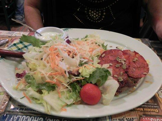 Parfait charolais avec salade photo de la pataterie for Restaurant dorlisheim