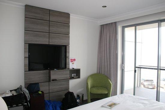 Aurora Ozone Hotel : Standard double bed