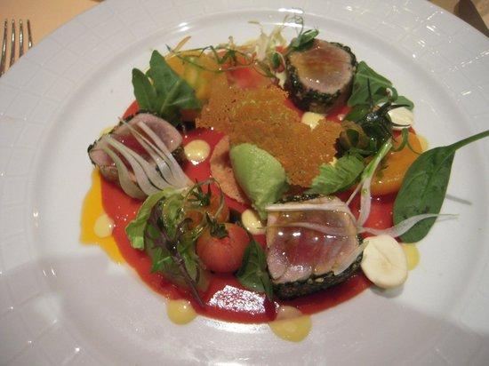 Domaine des Hauts de Loire : Le thon et la tomate