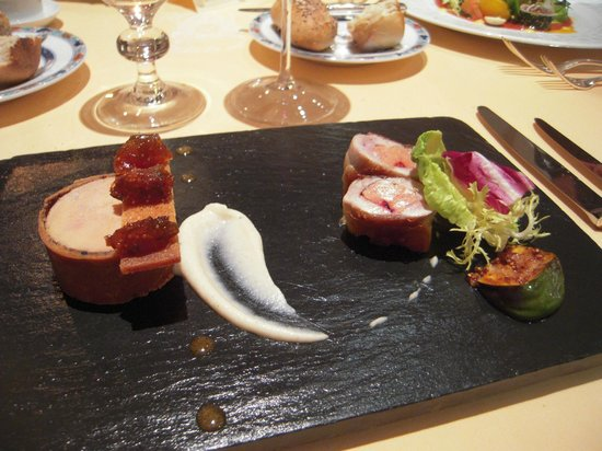 Domaine des Hauts de Loire : Le foie gras