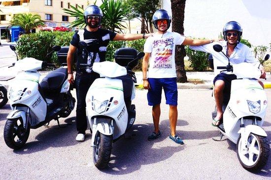 Cooltra Motos: Cooltra en Formentera