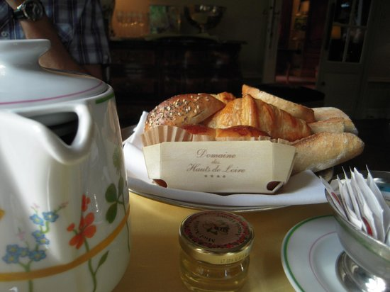 Domaine des Hauts de Loire : La belle vaisselle et la petite brioche