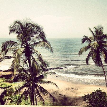 Morjim: Anjuna beach, Goa, India