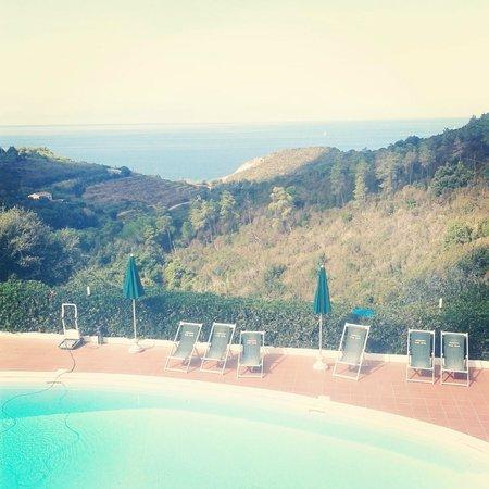 Acquaviva Park Hotel: La bellissima vista dalla nostra camera