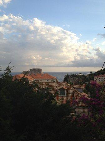 Villa Iveta: Utsikt från terassen