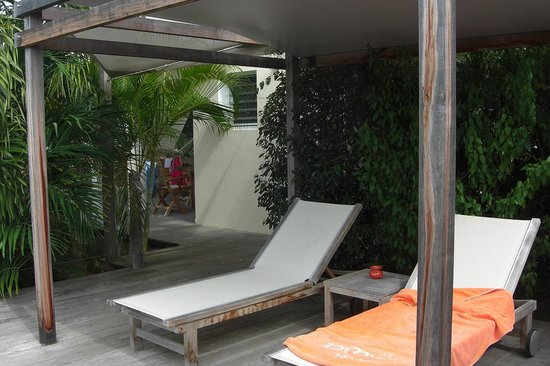 Hotel Le Village St Barth: The sundeck
