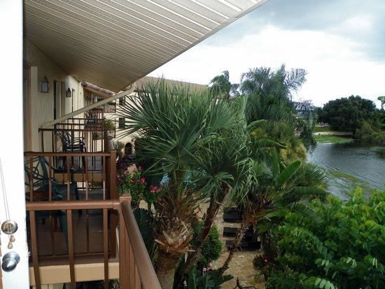 Inn On The Lakes: Our view from Suite #336