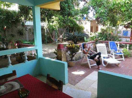 Hostal Ida: Le patio