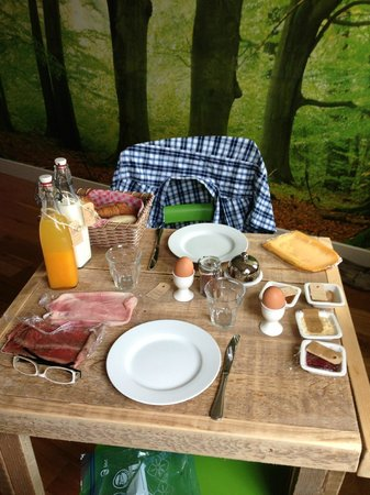 BB by Servio: Room made breakfast
