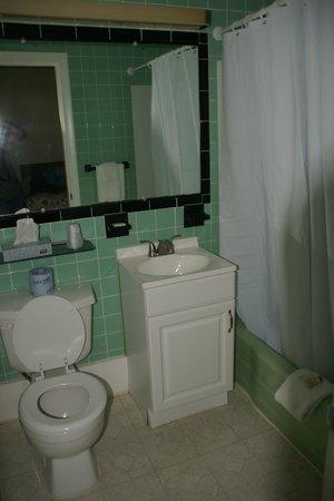 Jasper's Motel & Restaurant: Badezimmer