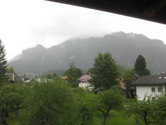 Romantik Hotel Böld: This was the view from my room. Beautiful, right?