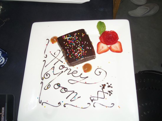 Hotel El Ganzo: We told the front desk it was our honeymoon and they sent us this and there was another surprise