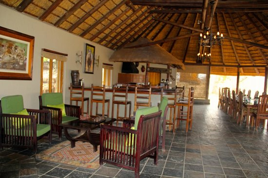 Jackalberry Lodge: This is the bar and main common area