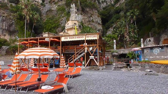 Positano, Italia: View of the Restaurant, best food in italy