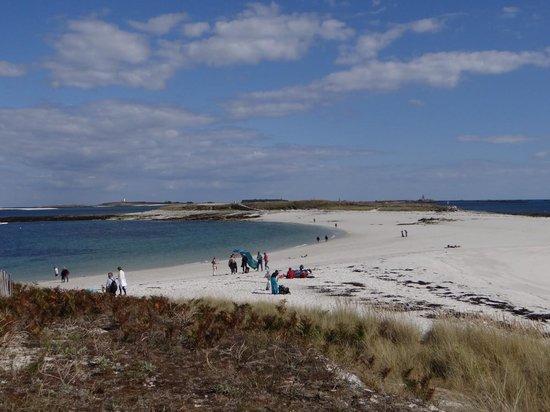 Vedettes de l'Odet : Grande plage de l'Ile St nicolas