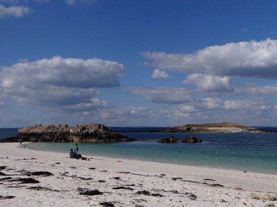 Vedettes de l'Odet : une autre plage.. superbe!