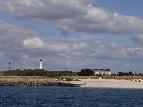 Vedettes de l'Odet : une... Ile de l'archipel....!