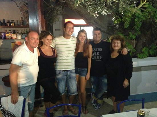 Lindos Athena Hotel: The 'Family', some of the nicest people we've ever met...
