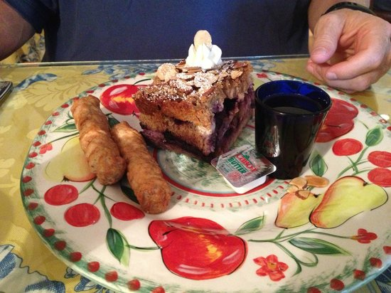 The Harbour Cottage Inn: Stuff French Toast