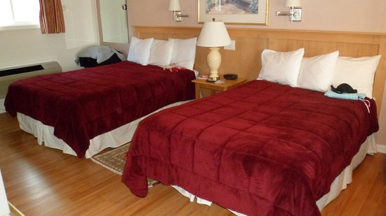 SeaCoast Inn : Comfy big beds