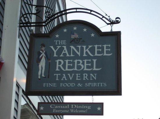 The Yankee Rebel Tavern: Everyone Welcome!