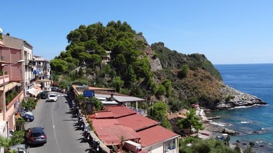 Panoramic Hotel: Seitenblick aus dem Hotel