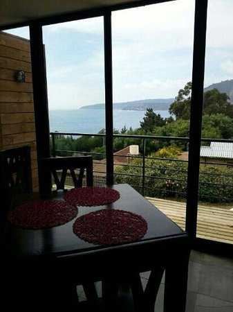 Quintay, Чили: Hermosa vista!! :)