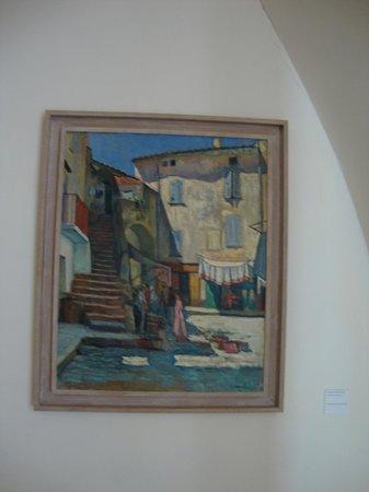 Musée de l'Annonciade (Musée de Saint-Tropez) : C. Camoin - La Place aux herbes à Saint-Tropez, 1905