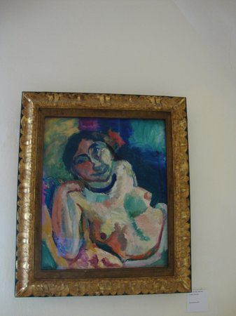 Musée de l'Annonciade (Musée de Saint-Tropez) : H. Matisse - La Gitane, 1905-1906