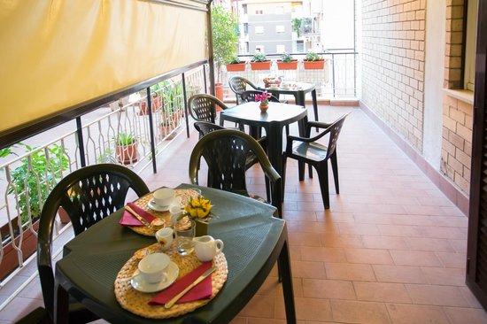 Bed&Breakfast Villa  Adriana : terrazza