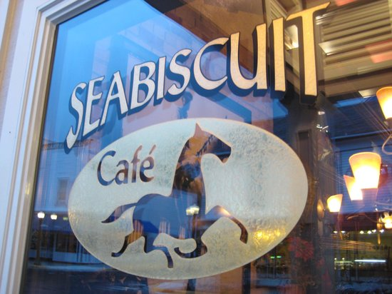 Seabiscuit Cafe: Storefront