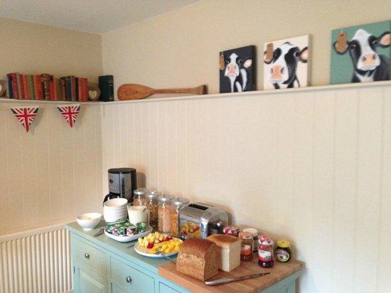 Quidhampton Mill Bed & Breakfast: Salón del desayuno