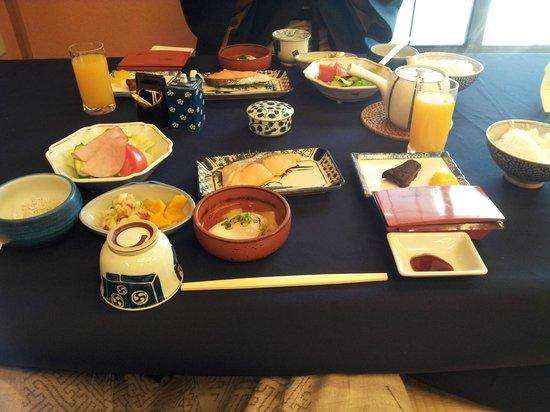 Sukeroku No Yado Sadachiyo : colazione!!!!