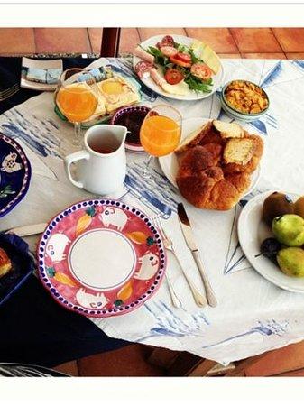 Il Porticciolo di Amalfi: breakfast)