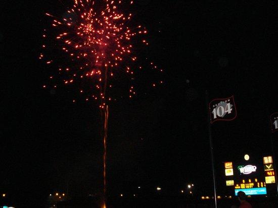 Bowling Green Ballpark: Fireworks after a ballgame!