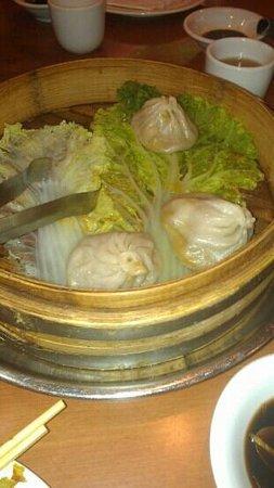 Joe's Shanghai: pork dumplings