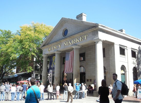 Greenway Carousel : Quincy Market