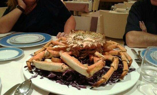 Canyelles Platja : Cabra de mar de la cena