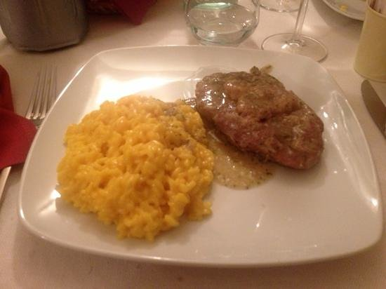 L'Angolo dei Risotti: risotto con ossobuco