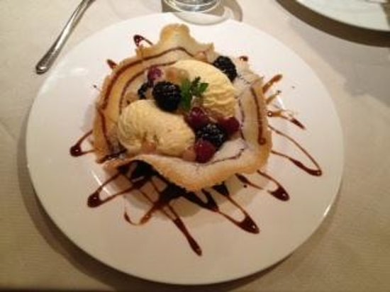 Osteria Veneta : gelato con frutti di bosco