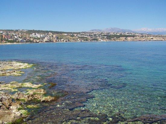 Apollo: Super klares Wasser von der Burgseite in Rethymnon aufgenommen