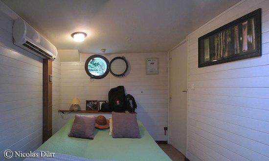 """Chambre d'hotes Peniche MIRAGE : La cabine """"Oasis"""""""