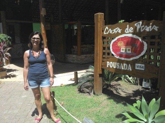 Pousada Casa De Praia: Entrance